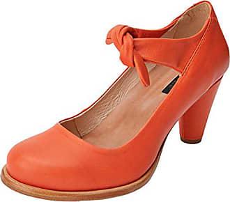 Carrot Mujer Eu Naranja Tacon Tobillo Suave Para De Y Con Zapatos 39 beba S938 Correa Neosens Z7xEa