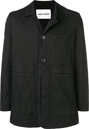 Zwart Jacket Button up Vibskov Henrik q1SzIx
