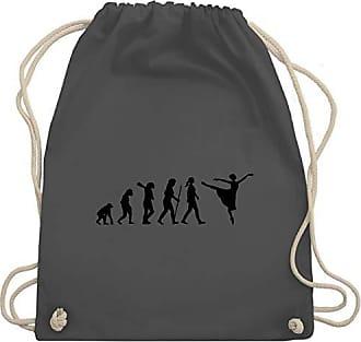 Arabesque Gym Unisize amp; Dunkelgrau Wm110 Bag Turnbeutel Evolution Ballett Shirtracer Eqwa8a