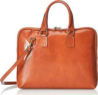 Cm Chicca 38 Handtaschen Damen Borse Orange cuoio FBF70Yfqw