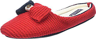 37 Hilfiger tango Femme 38 Eu Red 2d Tommy Rouge Mules O1285rion Chaussons pnqxwzd4