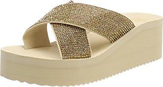 41 flop Sandales Eu Or sombrero Plateforme 8580 Glam Flip Femme Plateau Cross AxUvvq6