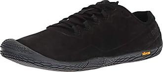 Black Leather Hombre Para Eu Merrell Zapatillas Glove Luna Negro 3 44 Vapor 0fqzpf