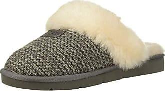 Damen 569186 1095116 Grau Charcoal Knit Ugg Cosy Hausschuhe Tfq06d