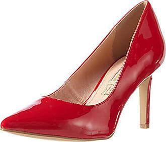 Eu H733 red Buffalo Para c002a De Rojo P2010l Mujer 4 Tacón Patent 40 Zapatos OxdpTAxq