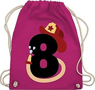 Fuchsia Turnbeutel Shirtracer Unisize Gym Wm110 amp; Kind Geburtstag 8 Bag Feuerwehr Cw0xXSZq