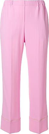 Rose N°21 Crop Pantalon Liserés À Contrastant 4wX4x