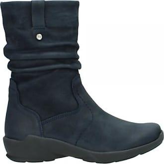 Dames Laarzen Shop Leren Blauw Tot PqwAqC