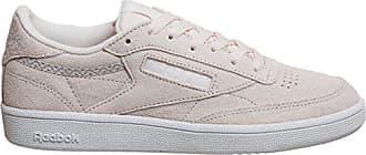 Damen 00042 powder Grey Pink Eu TennisschuheRosapale Club Reebok Trim Nbk white C 85 USVpGzqM