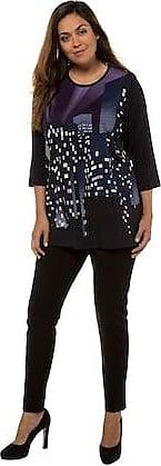 Mode Mitternachtsblau Ulla In Shirt Großen Größe Größen 44 42 Popken Damen OHqZw0