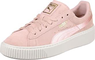 5 W Rose Mono Puma Platform Femmes Gr Suede Satin Chaussures Eu 40 Hxq4xRv1n