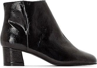 La Boots Talon Noir Collections Vernis Redoute Moyen AOqrwAB