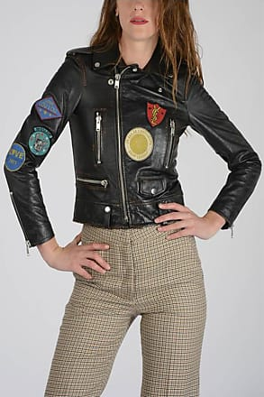 −70 Saint − To Laurent For Jackets Up Sale Leather Women Stylight wgzH7w