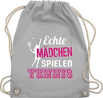 Bag Turnbeutel Tennis Gym Echte Wm110 Unisize Spielen amp; Shirtracer Mädchen Hellgrau PqHgwwv