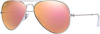 Aviator Para De 55 Plateado copper Sol ban Ray Hombre Gafas Metal Large Flash 56xx0T
