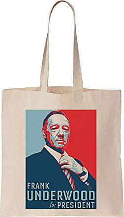 Tote Underwood President Cotton Finest Bag Poster Frank Election For Canvas Prints qw11z7Ef