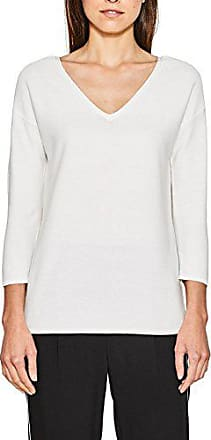 087eo1i007 White off Blanc Pull Femme 110 Small Esprit Odq41wnw