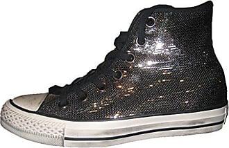 Femme Hi 020 Eu black Converse Taylor 39 Sneakers Basses Ctas Multicolore Chuck buff thunder Distressed Bq14Tx1gw