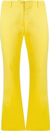 évasé Pantalon Pantalon Pt01 évasé Pt01 CropJaune CropJaune Pt01 RL3jqA45