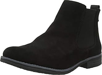 41 Black Prompted Eu London Bottes Femme Noir Chelsea Dune 8BYWv05qw8