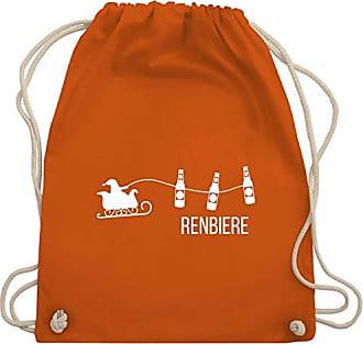 Typisch Shirtracer Bag Unisize Wm110 Renbiere Turnbeutel Männer Orange amp; Gym Urrwqxd4
