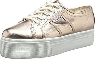 Sneakers 41 Superga 2790 Cotmetw Or rose Femme Basses Gold Eu Ex1pxPwqC