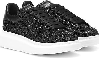 Alexander Leather Sneakers Glitter Mcqueen Platform rCwXr0Oq