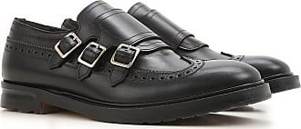 2017 Mcqueen Leather Outlet Monk Men On For Sale Alexander Strap In 43 Shoes Black 17Pq5wg