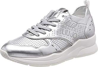 Jo FemmeArgentésilver Karlie sneaker Met 0053239 14 Leath Basses Liu Eu Shoes SlvSneakers cR5jq34ASL