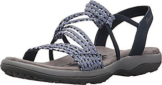 le Reggae Open Skechers navy per donne Nvy blu Slim stretch Eu Heel Appeal 36 Sandali p8R8qd