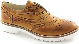 Vanity2 Chaussures Divine Elastic Brogues Cuir En Anglais Femmes Follie 57q1xqBnR