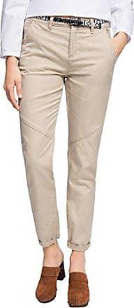 Esprit By W40 Femme 056cc1b011 l34 beige 270 Pantalon linen Edc ABwqR55