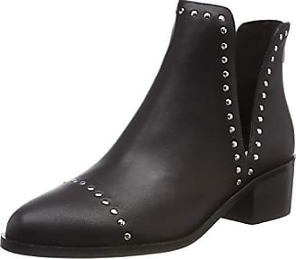 Para Leather Mujer 017 Madden Negro Botines black Conspire Ankleboot Steve Eu 37 HB8WUIqW