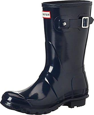 Gloss Wellington Azul navy Boots Original Para Botas Eu Short Mujer Caucho 39 De Hunter UEHqwS4w
