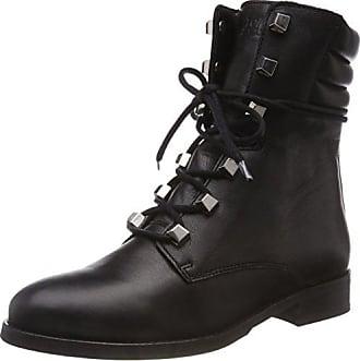 990 41 Up black Bottes Studs Boot Hilfiger Lace Noir Tommy Femme Eu Rangers Denim Classic Jeans qOwYS1B