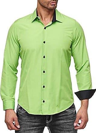 Freizeit Business Männer Hochzeit Herren Langarm Hemden Neal KrawatteGröße grün mFarbe Rusty Hemd Anzug QCBsxhrtd
