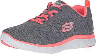 Flex coral Para 2 0 Skechers Gris grey Mujer Eu 38 Appeal Zapatillas 1x4qSwUa