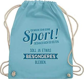 Sonstige Sportarten Unisize amp; Shirtracer Mache Ich Sport Gerne Wm110 Hellblau Gym Sehr Bag Turnbeutel AgxZqw6HWZ