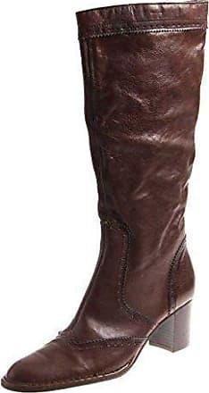 Damenschuhe Damen Ykx Stiefel Lederstiefel Langschaft Italy 2856 amp;co wTwIXUqB14