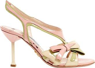 Sandales En Verni Prada Cuir Occasion Xxq5U5