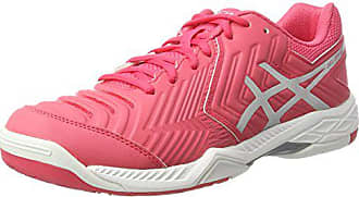 Femme Tennis Red 6 game 42 Gel white rouge Chaussures silver Eu De 5 Asics gZXqY4Wg
