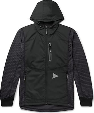 trimmed And Charcoal Fleece Jacket Hooded knit back Shell Jacquard Reflective Wander qg4gUxFp