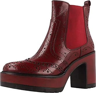 Modelo Burgund Marca Damen Burgund 7207 Stiefelleten Pons Damen Quintana Color boots P04 nc1R0PWx