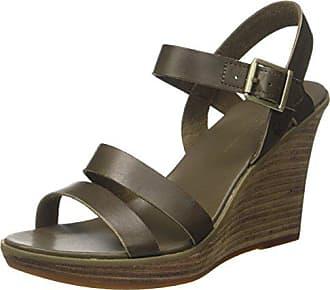 Sandalcanteen Compensées Vert strap Discover Sandales Timberland Y Eu Cassanna Femme 40 canteen wA8Yqx4tn
