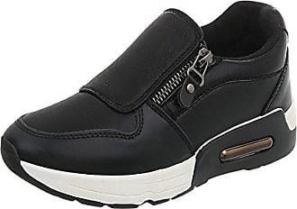 Ital schuhe 62 38 design Www Sneakers Low Schwarz Damen Freizeitschuhe Gr rIrcwaxqC7