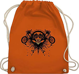 Orange Biker Motorräder Life Turnbeutel Unisize Wm110 True Bag Gym amp; Shirtracer X4H5S