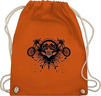 Unisize amp; Wm110 Shirtracer Motorräder Bag Biker True Orange Life Gym Turnbeutel aq7ZIq