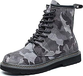 High Grunge Punk Grau Schnürstiefeletten Damen Boots Camouflage Winter Profilsohle Worker Schnürer Heels Schuhe Stiefeletten 35 Eu Honeystore Stiefel Muster Blockabsatz 86B0qq