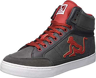 Drunknmunky 44 Altas Hombre Vitaminix Boston Gris Eu gray Red Para 013 Zapatillas xwfrgFx