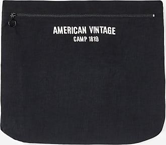 En Vintage American Pochette Gris Souple Textile lFJc3uTK1